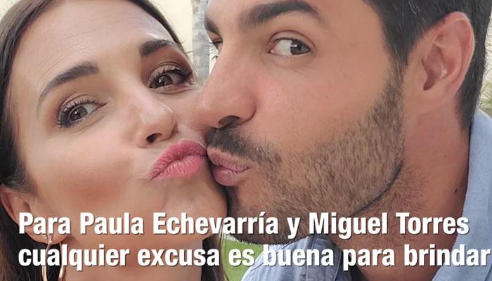 La cena romántica en casa de Paula Echevarría y Miguel Torres