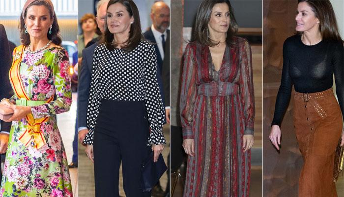 La Reina Letizia y los vestidos que NO volvió a usar