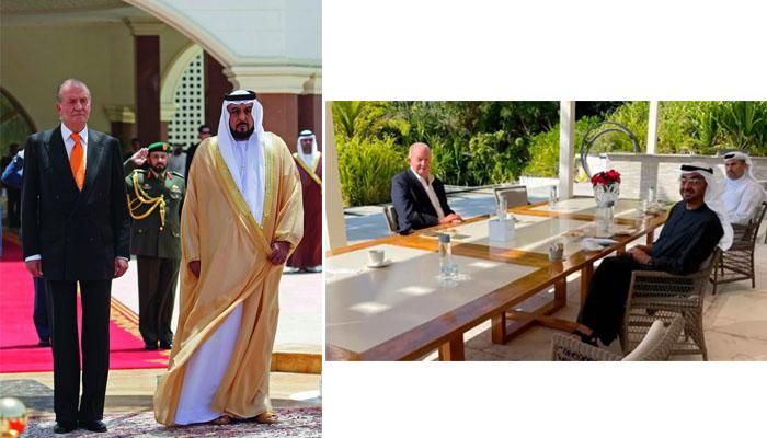 La Vida del Rey Juan Carlos en Abu Dabi