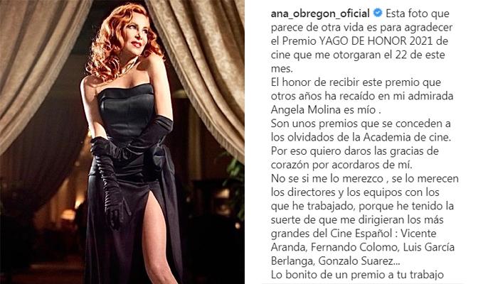 El truco de Ana Obregón