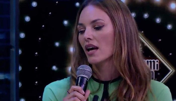 Helen Lindes quiere ser cantante